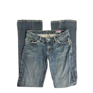 Volcom Brand Jeans Blue Denim Boot Cut